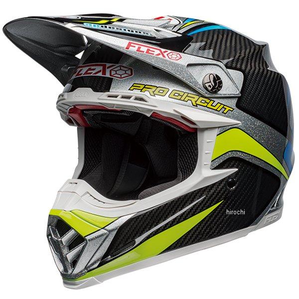 【メーカー在庫あり】 ベル BELL オフロードヘルメット MOTO-9 FLEX プロサーキットレプリカ19 黒/緑 Lサイズ(59cm-60cm) 7103430 JP店