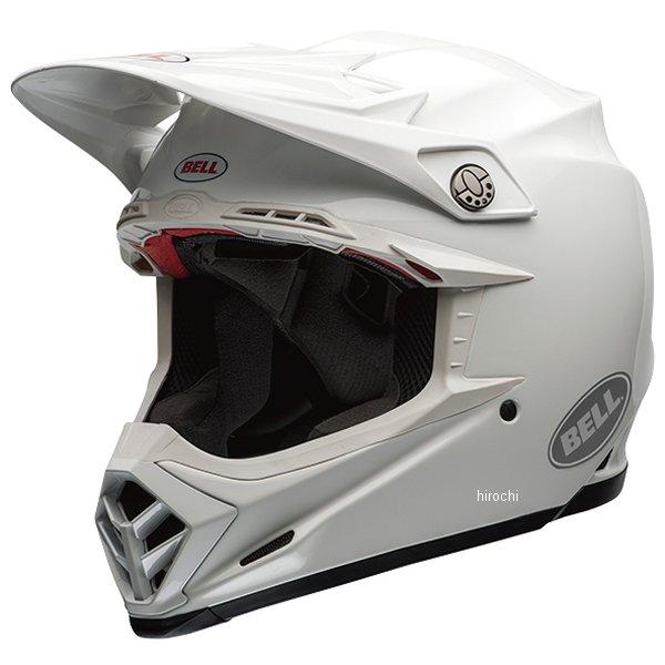 【メーカー在庫あり】 ベル BELL オフロードヘルメット MOTO-9 FLEX ソリッド 白 Lサイズ(59cm-60cm) 7060792 JP店