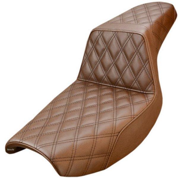 【USA在庫あり】 サドルメン Saddlemen シート ステップアップ LS FXR ブラウン 0805-0133 JP店