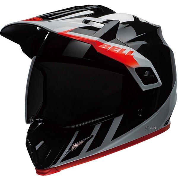 【メーカー在庫あり】 ベル BELL オフロードヘルメット MX-9 アドベンチャー MIPS ダッシュ グロスブラック/白/オレンジ XLサイズ(60cm-61cm) 7110293 JP店