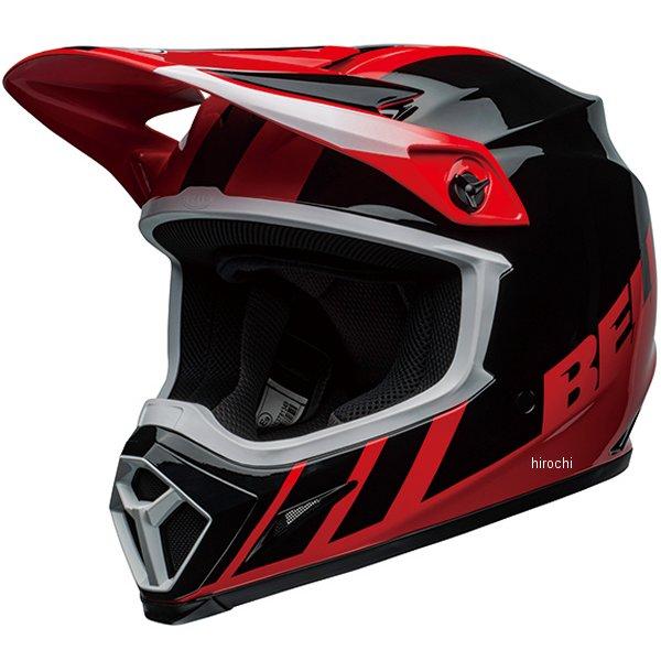 【メーカー在庫あり】 ベル BELL オフロードヘルメット MX-9 MIPS ダッシュ グロスレッド/黒 Lサイズ(59cm-60cm) 7111591 JP店