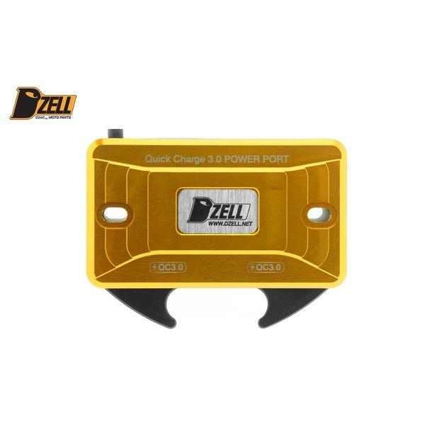 コルハート Dzell USB Twoポート Y/B(GOLD) QC3.0×2口 金 780208 JP店