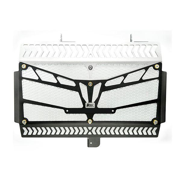 コルハート Dzell ラジエターコアガード(MT-09トレーサー) 黒×シルバー 780401 JP店