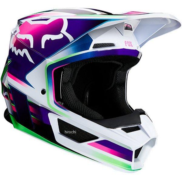 【メーカー在庫あり】 フォックス FOX オフロードヘルメット V1 ガマ マルチ Lサイズ(59cm-60cm) 23977-922-L JP店