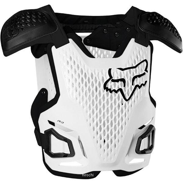 【メーカー在庫あり】 フォックス FOX プロテクター R3 ルーストデフレクター 白 S/Mサイズ 24017-008-S/M JP店