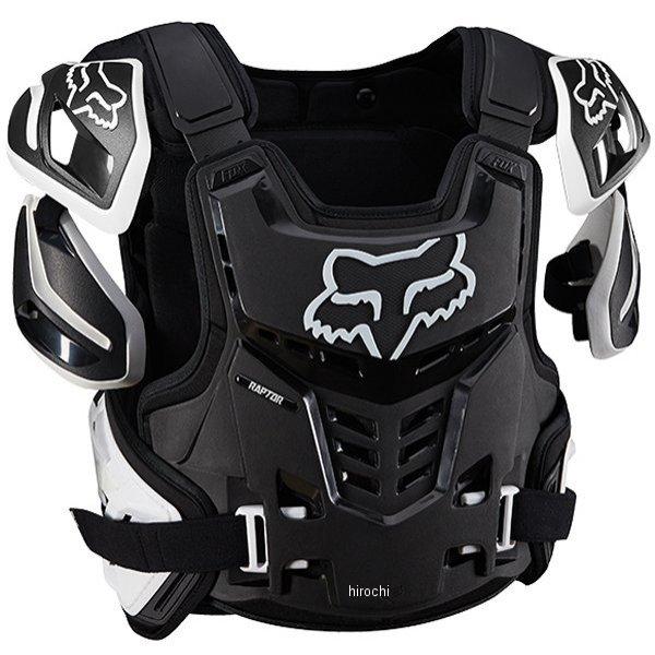 【メーカー在庫あり】 フォックス FOX プロテクター ラプターベスト 黒/白 L/XLサイズ 12350-018-L/XL JP店