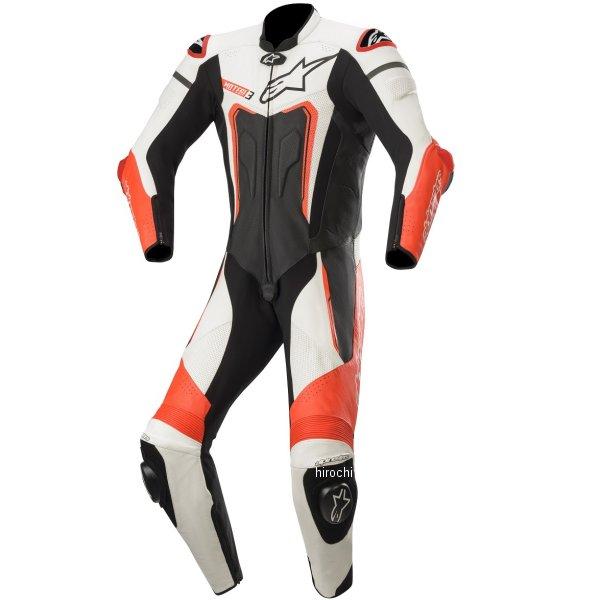 アルパインスターズ 2019年秋冬モデル レザースーツ MOTEGI V3 黒/白/蛍光赤 46サイズ 8059175094767 JP店