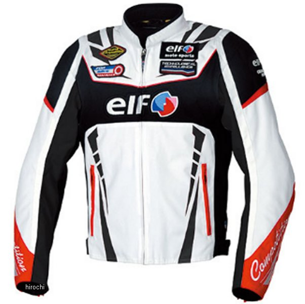 エルフ elf 2019年秋冬モデル ジャケット Vittoria Sport 白 Lサイズ EL-9247 JP店