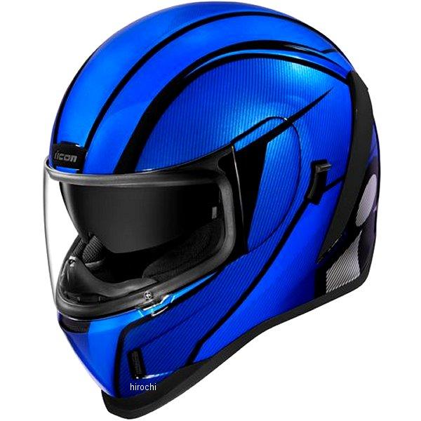 アイコン ICON 2019年秋冬モデル フルフェイスヘルメット AIRFORM CONFLUX 青 Lサイズ 0101-12316 JP店