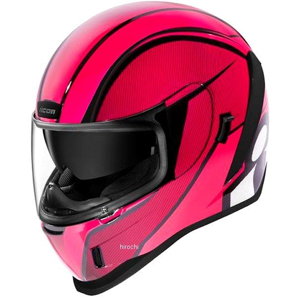 アイコン ICON 2019年秋冬モデル フルフェイスヘルメット AIRFORM CONFLUX ピンク XLサイズ 0101-12331 JP店