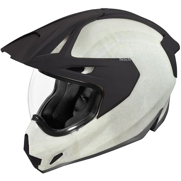 アイコン ICON 2019年秋冬モデル フルフェイスヘルメット VARIANT PRO CONSTRUCT 白 2XLサイズ 0101-12421 JP店