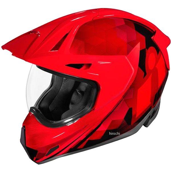 アイコン ICON 2019年秋冬モデル フルフェイスヘルメット VARIANT PRO ASCENSION 赤 3XLサイズ 0101-12443 JP店