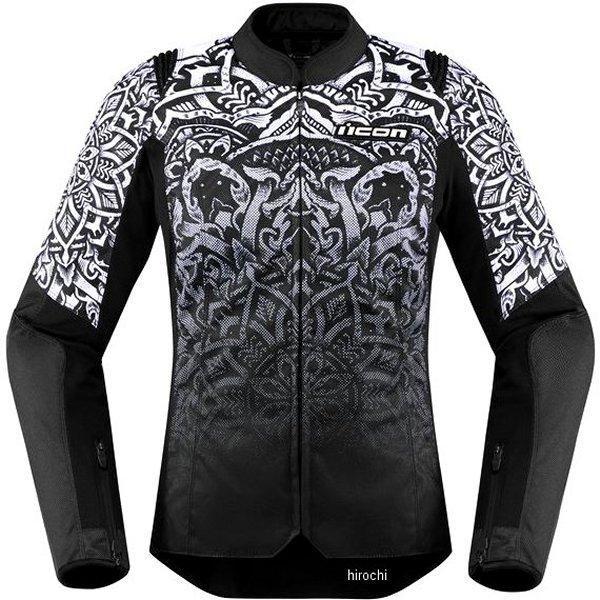 アイコン ICON 2019年秋冬モデル ジャケット W OVERLORED MANDALA CE 黒 Lサイズ レディース 2822-1242 JP店
