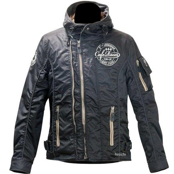 エースカフェロンドン 2019年秋冬モデル ナイロン W2 フーデット ジャケット 黒 Lサイズ FS1902NJ-BK/L JP店