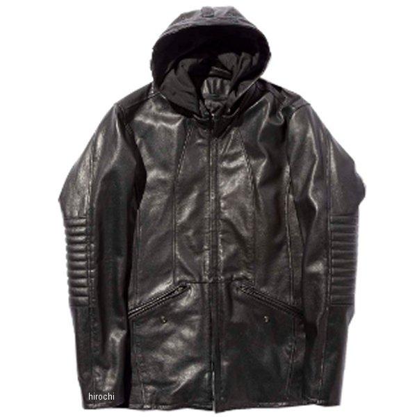 カドヤ KADOYA 2019年秋冬モデル レザージャケット VERMILLION 黒 3Lサイズ 1202 JP店