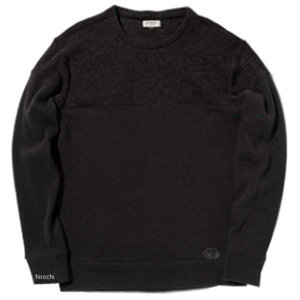 カドヤ KADOYA 2019年秋冬モデル 防風セーター INTHERMO 黒 Lサイズ 6252 JP店