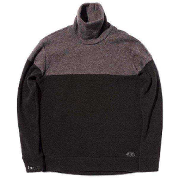 カドヤ KADOYA 2019年秋冬モデル 防風セーター INTHERMO HIGH 黒/グレー LLサイズ 6253 JP店