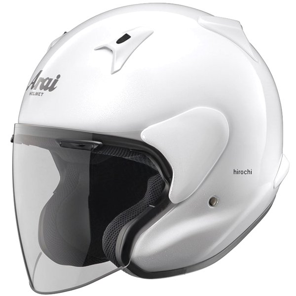 【メーカー在庫あり】 MF-GLWH-61 アライ Arai ヘルメット MZ-F グラスホワイト (61cm-62cm) 4530935328093 JP店