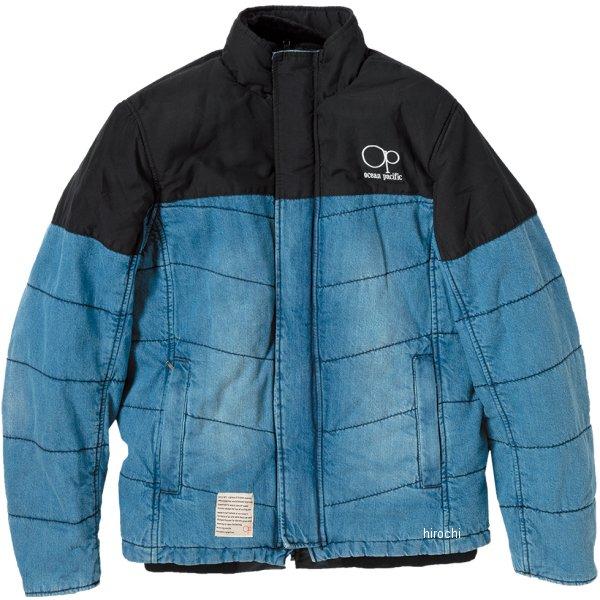 オーシャンパシフィック ocean pacific デニムダウンウィンタージャケット 青 L OPVA1902WBLL JP店