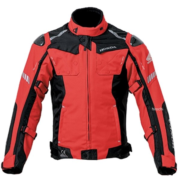 ホンダ純正 2019年秋冬モデル A/Wインペリアルロングジャケット 赤 4Lサイズ 0SYEJ-135-R JP店