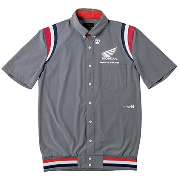 ホンダ純正 2019年秋冬モデル 裾リブピットシャツ SS グレー LLサイズ 0SYEL-15F-N JP店