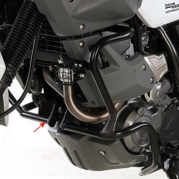 ヘプコアンドベッカー HEPCO&BECKER エンジンガード 08年以降 XT660Z ブラック 502405 00 01 JP店