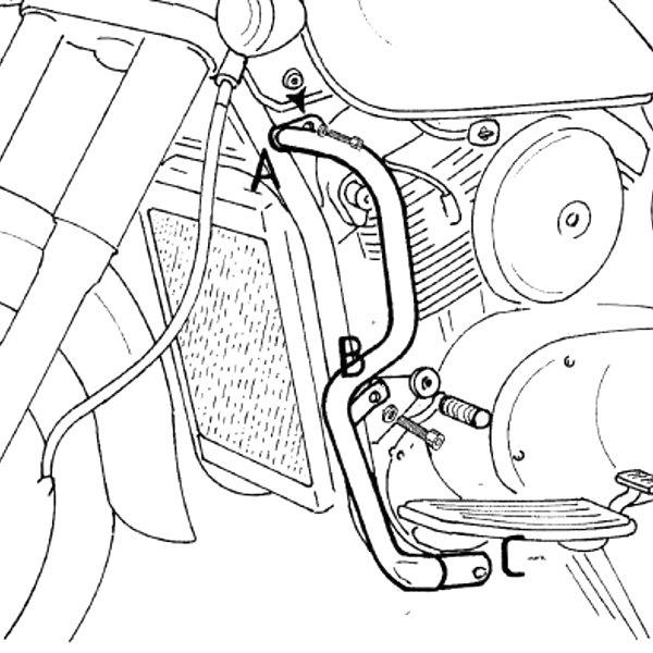 ヘプコアンドベッカー HEPCO&BECKER エンジンガード カワサキ VN1500 バルカンクラシック クローム 501209 00 02 JP店