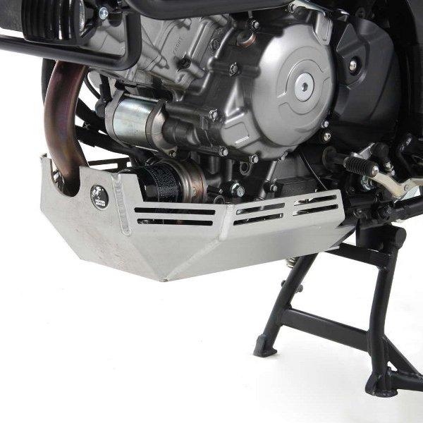 ヘプコアンドベッカー HEPCO&BECKER エンジン アンダーガード 12年-16年 V-Strom650 シルバー 8103528 00 09 JP店