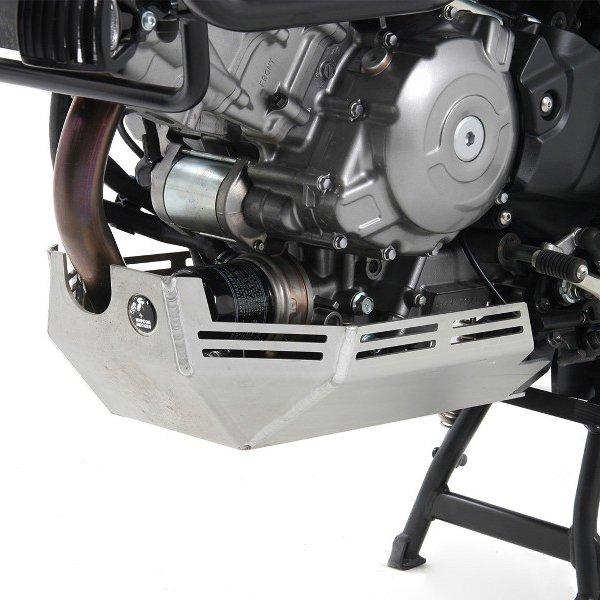 ヘプコアンドベッカー HEPCO&BECKER エンジン アンダーガード 04年-11年 DL650 V-Strom シルバー 810368 00 09 JP店
