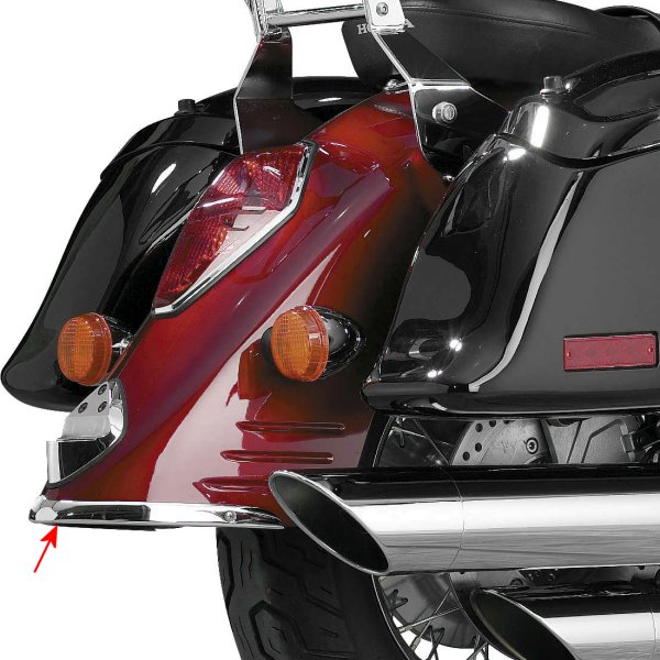 【USA在庫あり】 ナショナルサイクル National Cycle ホンダ リア フェンダー TIP 552743 JP
