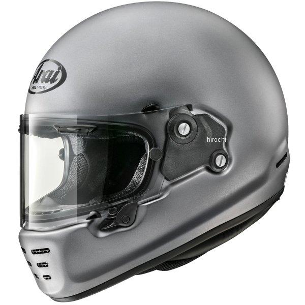 山城×アライ フルフェイスヘルメット RAPIDE-NEO ラパイド・ネオ プラチナグレーフラット Lサイズ(59-60cm) 4530935563579 JP店