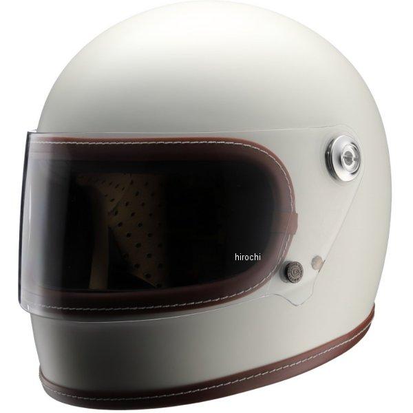 ニキトー NIKITOR フルフェイスヘルメット Retro-One オフホワイト Mサイズ NH-R1 JP店