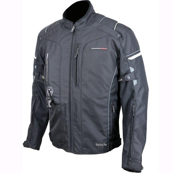 ヒットエアー hit-air 2019年秋冬モデル エアバッグジャケット(ベンチレーション) 黒/グレー Sサイズ HS-6 JP店
