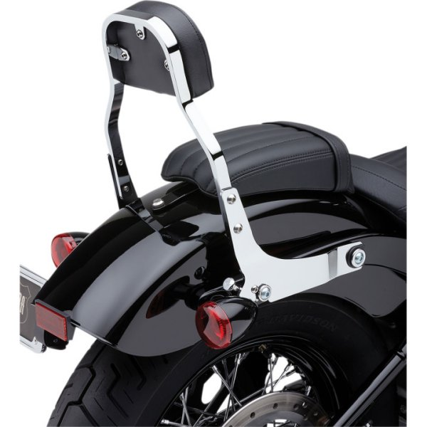 【USA在庫あり】 Cobra コブラ BACKREST DET MINI CHR SFT 1501-0571 JP店