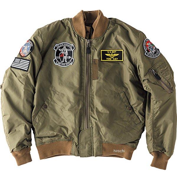 ヒューストン HOUSTON MA-1 BLACK KNIGHT ジャケット カーキ S HTVA1921WKHS JP店