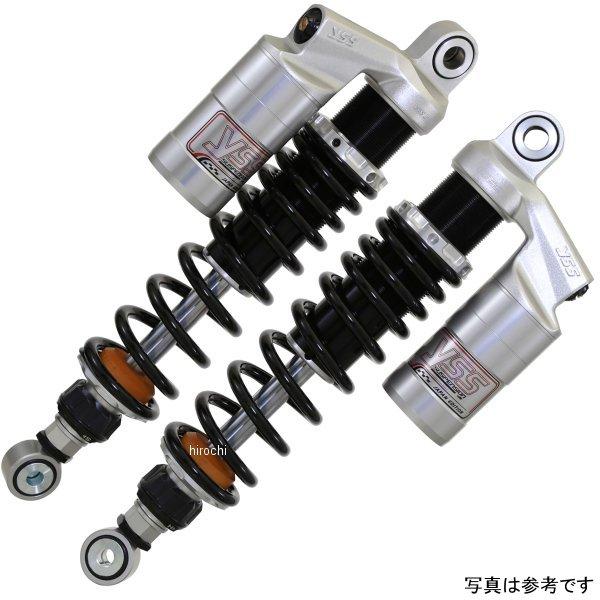 ワイエスエス YSS ツイン リアショック スポーツライン G366 SR500、SR400 330mm シルバー/赤 25N 116-601510S5 JP店