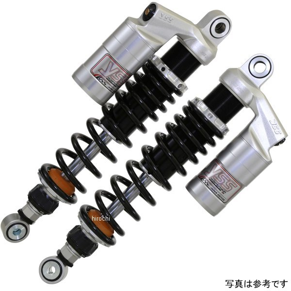 ワイエスエス YSS ツイン リアショック スポーツライン G366 SR500、SR400 330mm シルバー/赤 27N 116-601510S7 JP店