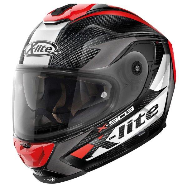 【メーカー在庫あり】 ノーラン NOLAN フルフェイスヘルメット X903 Ultra Carbon ノビレス 27 赤 Lサイズ 16203 JP店