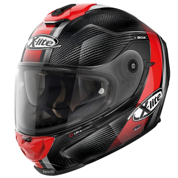 【メーカー在庫あり】 ノーラン NOLAN フルフェイスヘルメット X903 Ultra Carbon セナター 24 赤 XLサイズ 16285 JP店