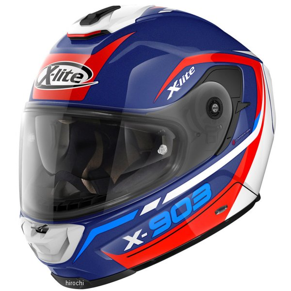 【メーカー在庫あり】 ノーラン NOLAN フルフェイスヘルメット X903 カバルカーデ 24 ブルー Mサイズ 16338 JP店
