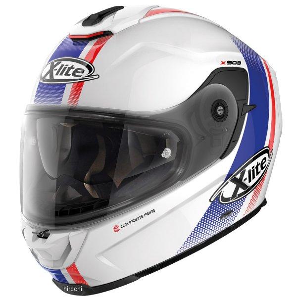 【メーカー在庫あり】 ノーラン NOLAN フルフェイスヘルメット X903 Senator セナター 19 白 Lサイズ 16349 JP店
