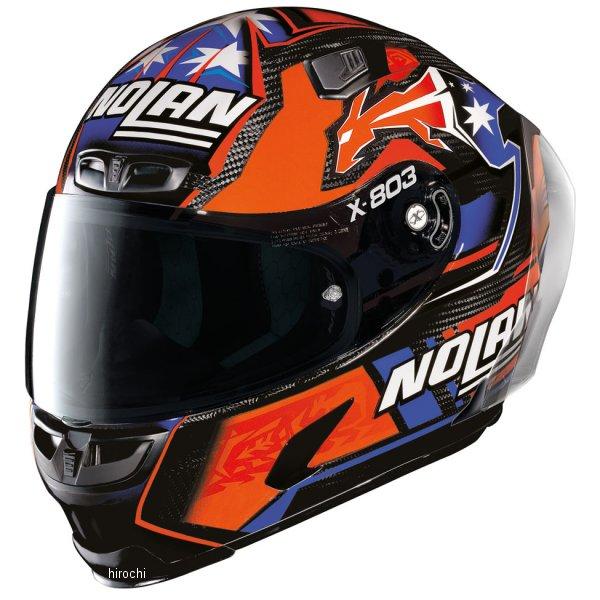 【メーカー在庫あり】 ノーラン NOLAN フルフェイスヘルメット X803RS Ultra Carbon STONER 24 Mサイズ 16387 JP店