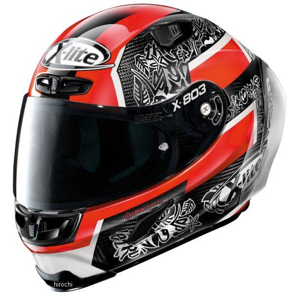 【メーカー在庫あり】 ノーラン NOLAN フルフェイスヘルメット X803RS Ultra Carbon PETRUCCI 21 XLサイズ 16404 JP店