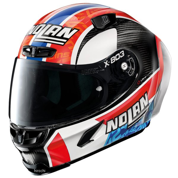 【メーカー在庫あり】 ノーラン NOLAN フルフェイスヘルメット X803RS Ultra Carbon RINS 22 Sサイズ 16413 JP店