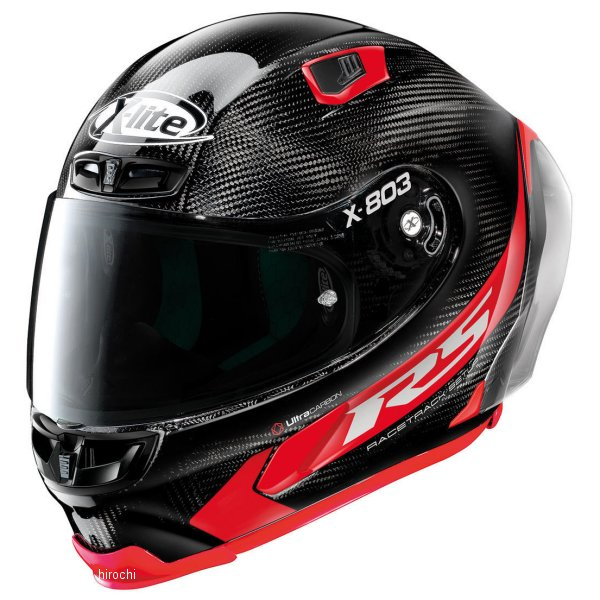 ノーラン NOLAN フルフェイスヘルメット X803RS Ultra Carbon Hot Lap 13赤 Lサイズ 16457 JP店