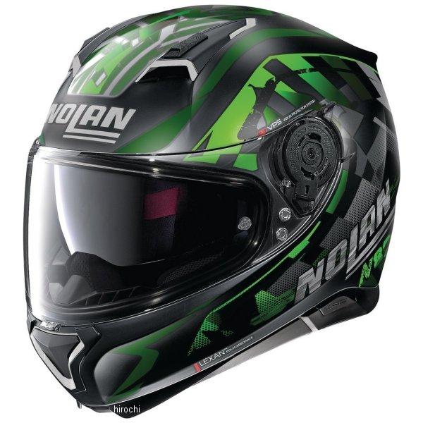 【メーカー在庫あり】 ノーラン NOLAN フルフェイスヘルメット N87 VENATOR 92 緑 Lサイズ 16623 JP店