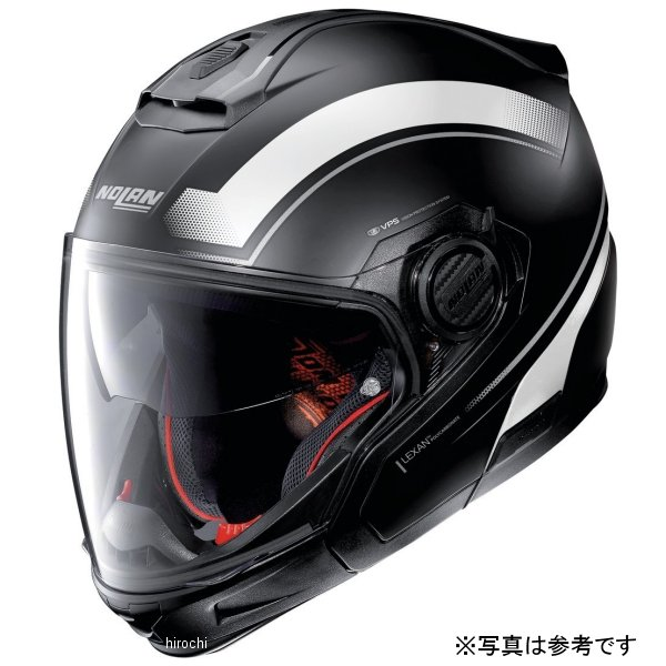 【メーカー在庫あり】 ノーラン NOLAN N405GT システムヘルメット リソリュート 20 FBK/WH Lサイズ 16679 JP店