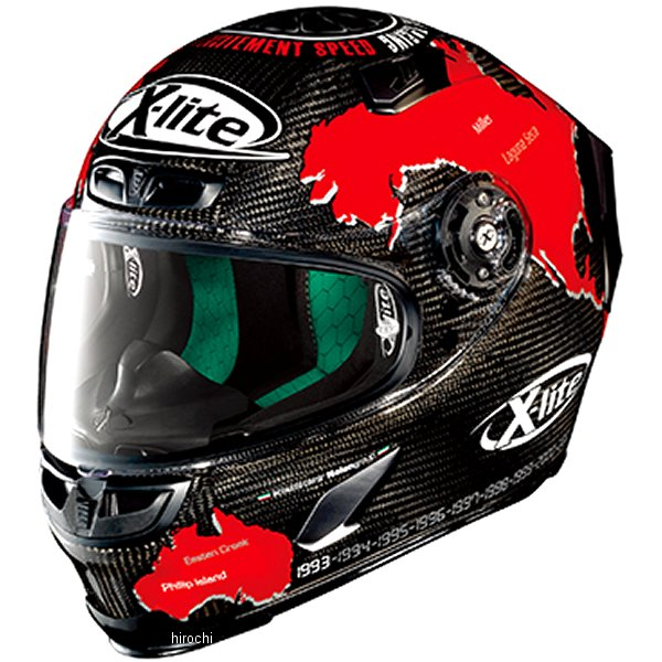 【メーカー在庫あり】 X803UC ノーラン NOLAN フルフェイスヘルメット チェカ/19 Lサイズ 97623 JP店