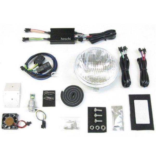 プロテック PROTEC クラシカルヘッドライト LBH-H11 6000K スーパーカブ110プロ 63008-60 JP店