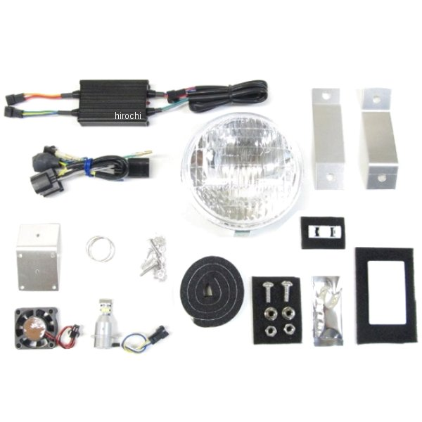 プロテック PROTEC クラシカルヘッドライト LBH-H23 6000K スーパーカブ125 63012-60 JP店